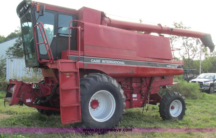 1992 case ih 1680 axial flow combine item i3237 sold! oc Combine Case IH Axial-Flow History