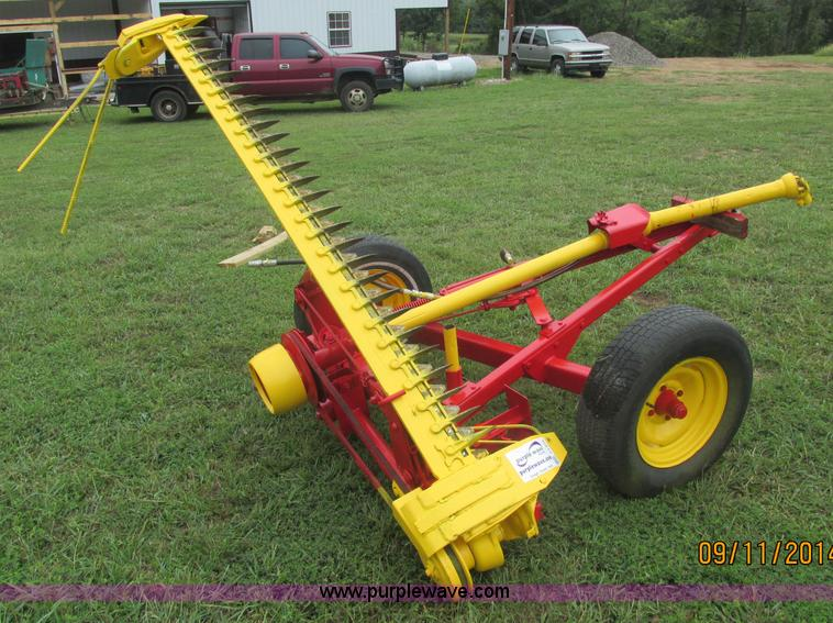 Used construction agricultural equip trucks trailers more for Sickle mower for garden tractor