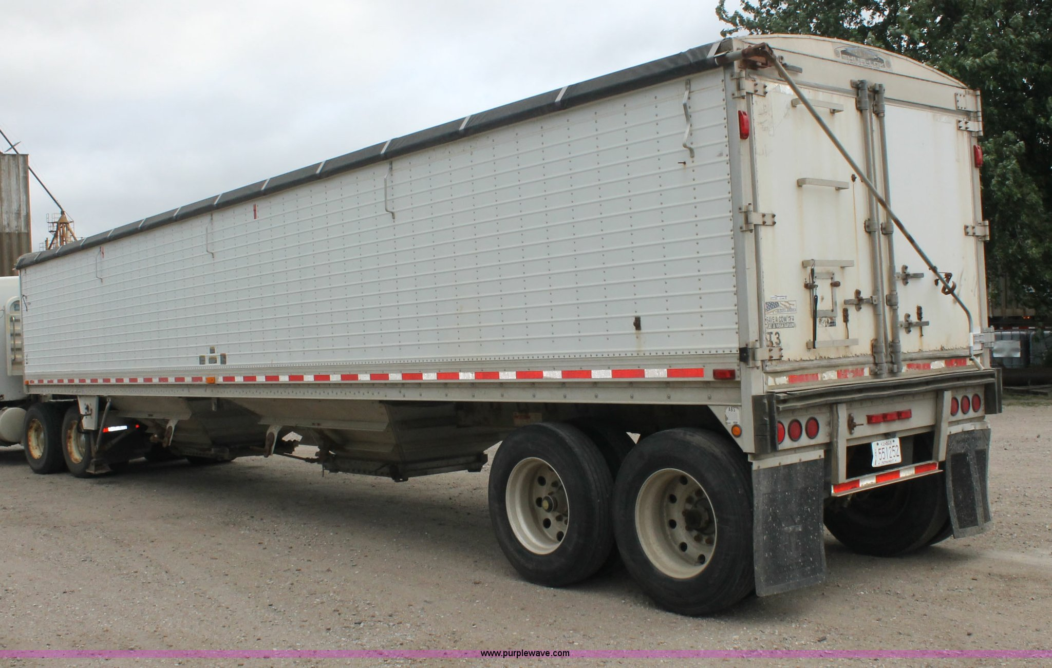 2001 wilson dwh-400 hopper grain trailer   item aj9346 ... s10 blazer trailer wiring diagrams wilson hopper trailer wiring diagrams