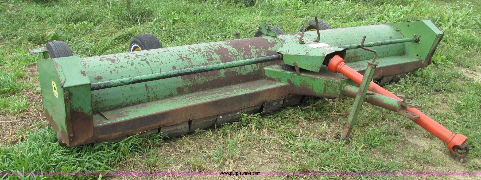 John Deere 27 flail shredder   Item G9977   SOLD! October 8