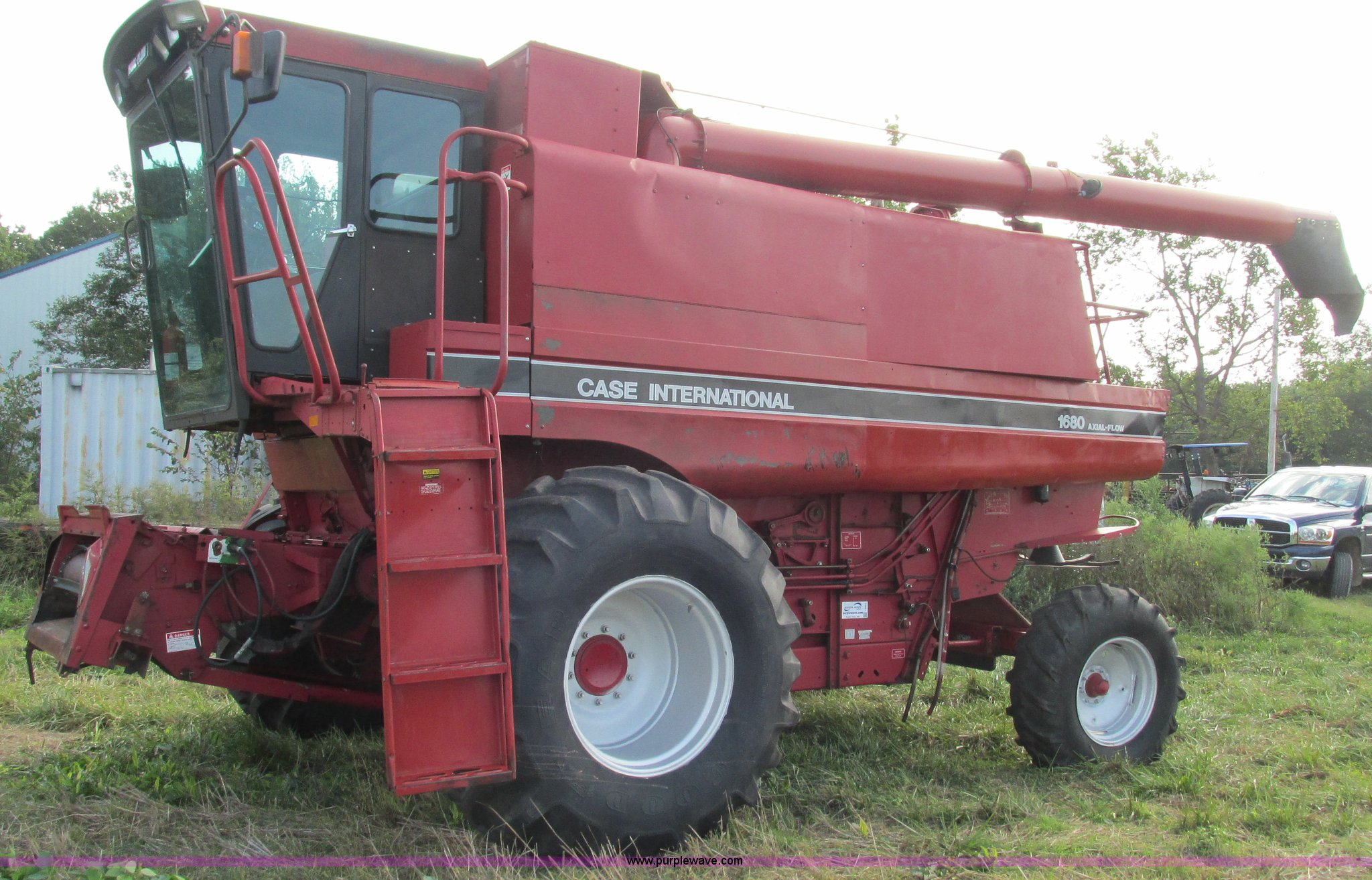 1992 Case Ih 1680 Axial Flow Combine Item I3237 Sold! Oc Combine Farm  Equipment Case Ih 1680 Combine Wiring Schematic