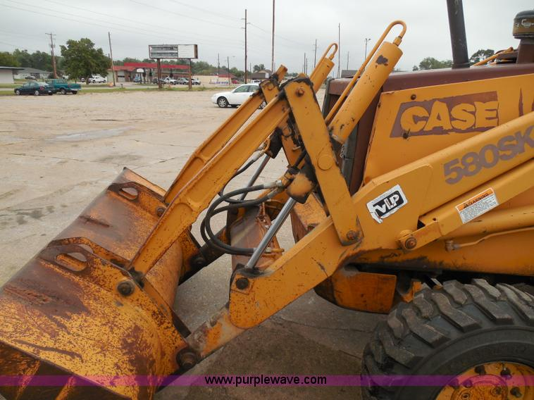 1994 Case 580 Super K backhoe | Item I3344 | SOLD! October 9