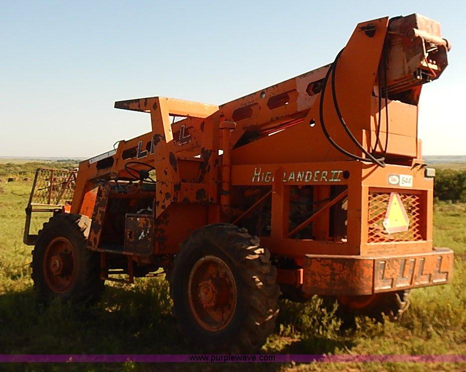 1986 Lull 644 Tt Highlander Ii Telehandler Item I5754