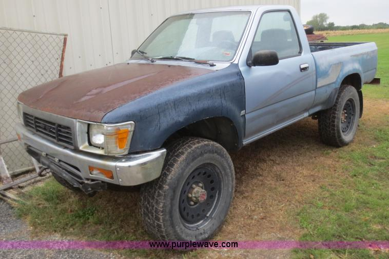 1990 Toyota DLX pickup truck | Item D2153 | SOLD! October 15