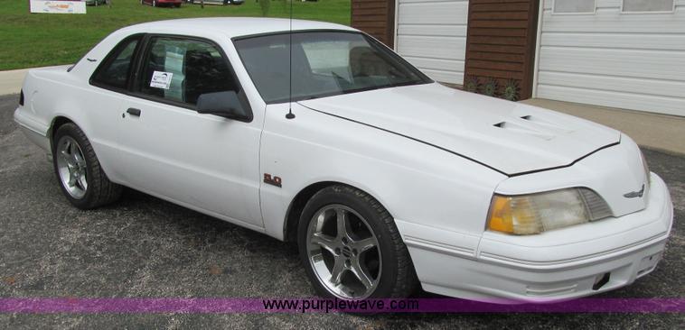 1988 Ford Thunderbird Sport  Item J3411  SOLD October 15