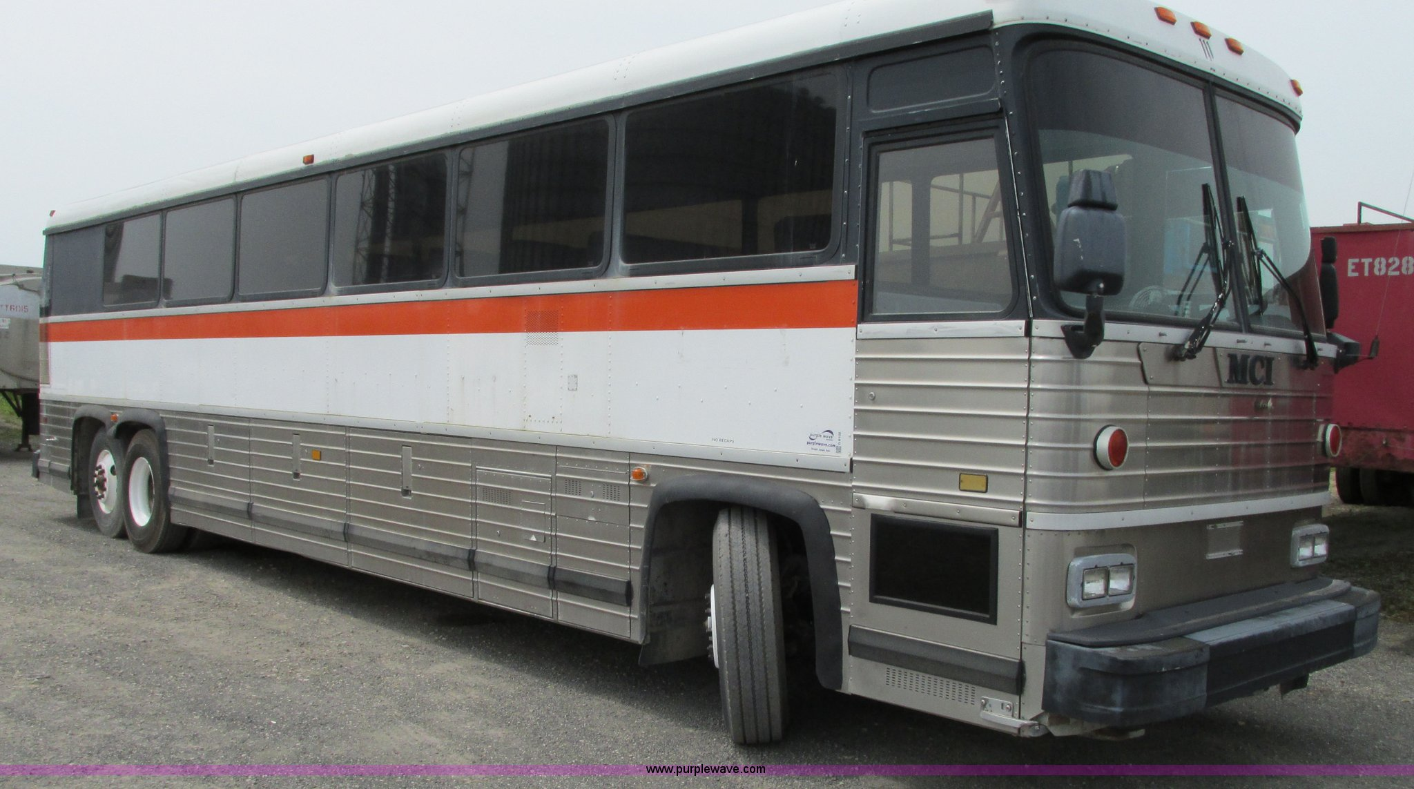 1996 MCI MC-12 coach bus | Item G9102 | SOLD! October 15 Veh