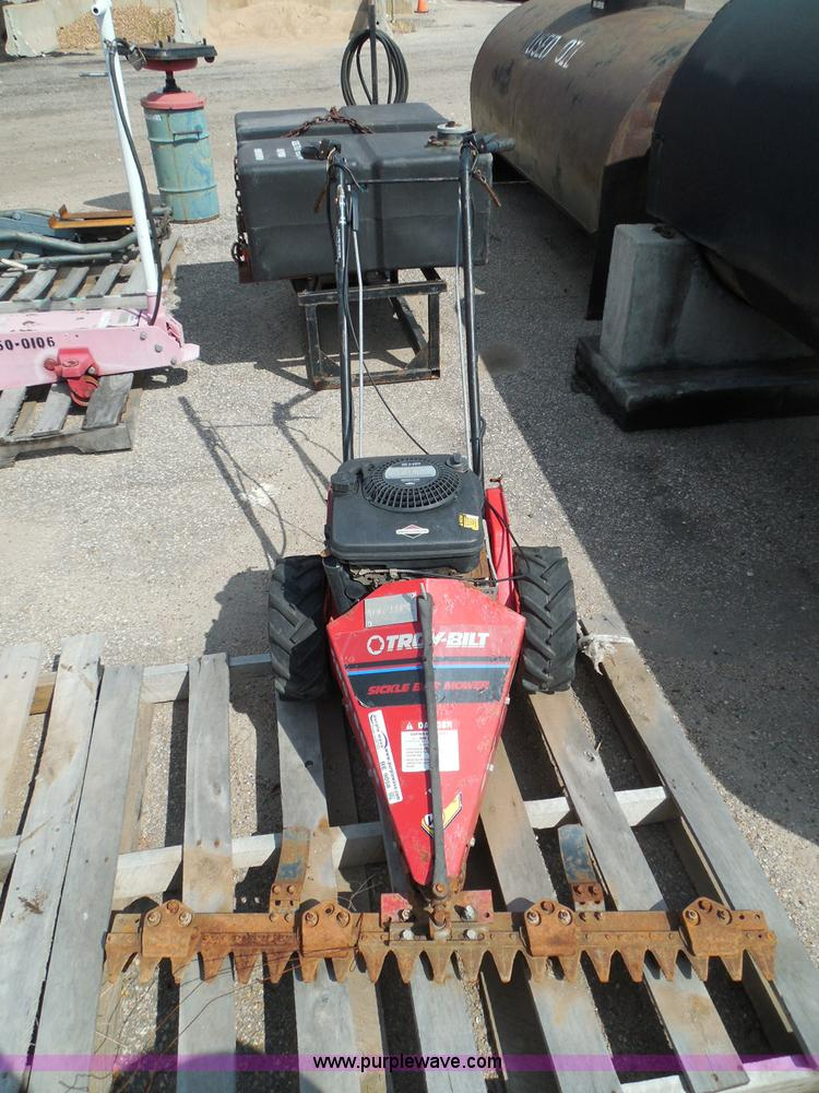 Troy Bilt Sickle Bar Mower Repair - tribestline's diary
