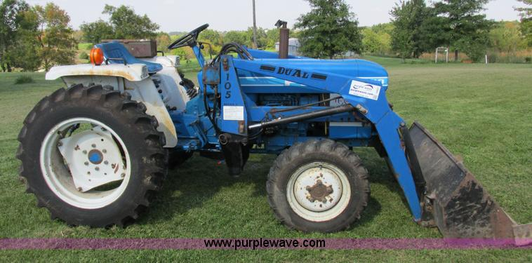 Ford 1710 Mfwd Tractor
