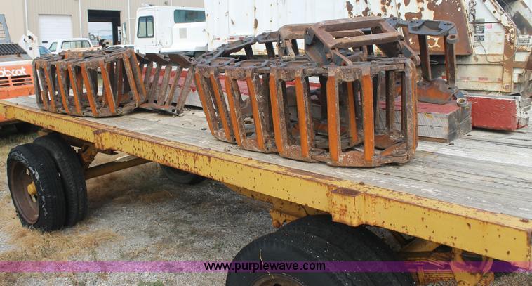Grouser Steel Skid Steer Tracks Item Aj9297 Sold Octobe