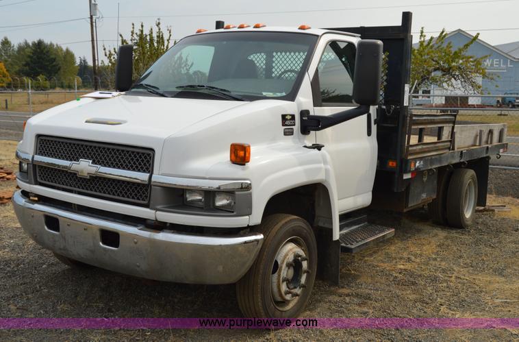2003 chevrolet c4500 flatbed truck item f8351 sold octo rh purplewave com 2019 Chevy 4500 2018 Chevy 4500