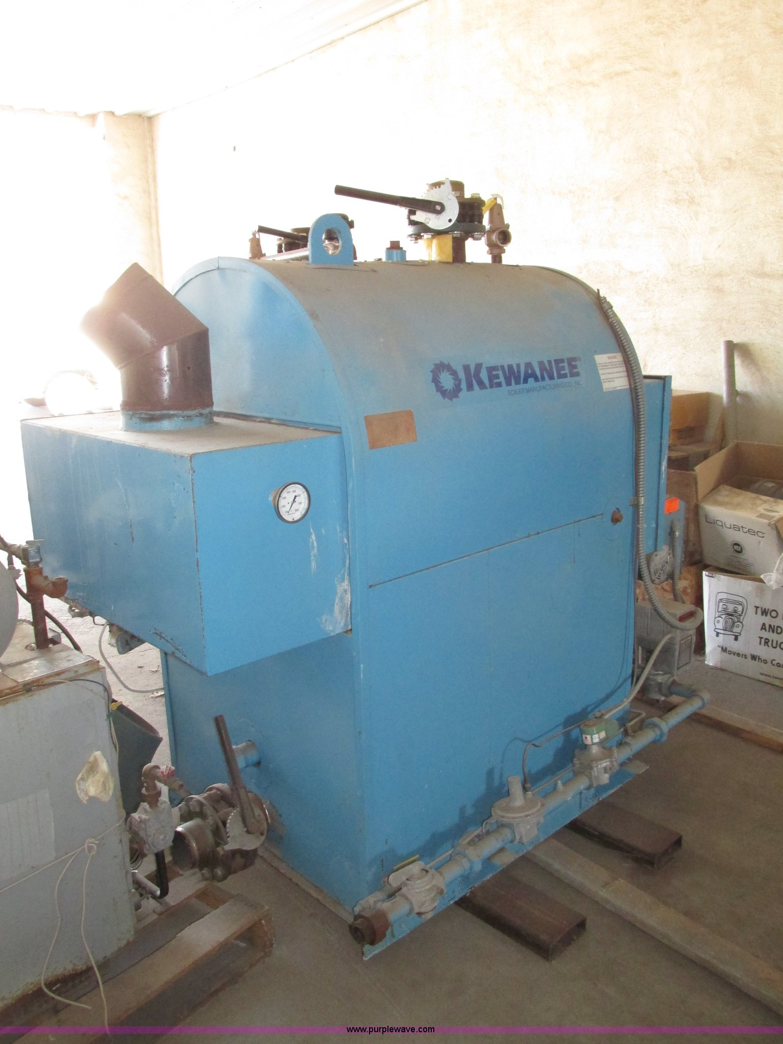 1998 Kewanee dual fuel hot water trim boiler | Item G9940 | ...