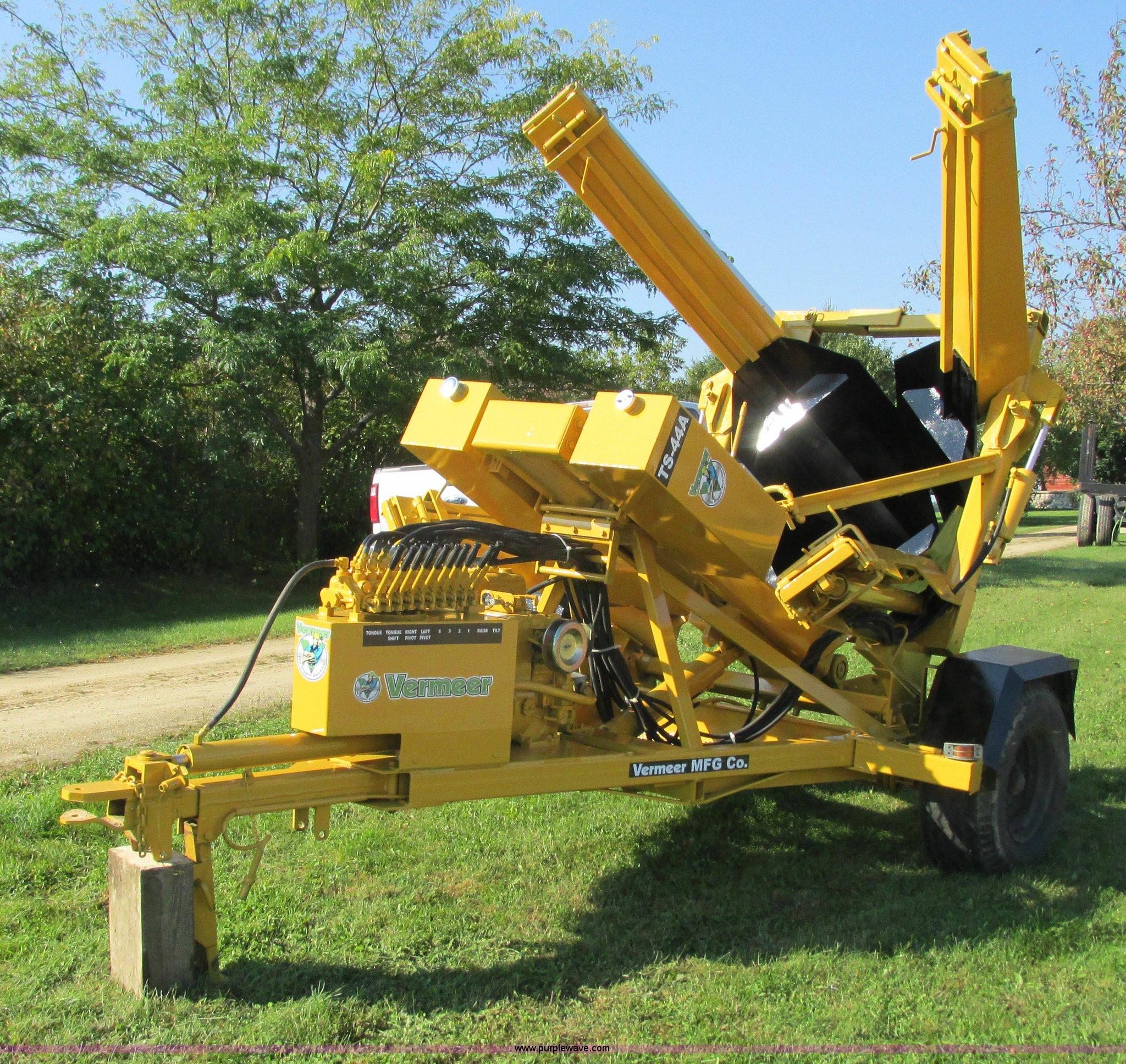 Vermeer TS-44A tree spade | Item I3826 | SOLD! October 23 Co