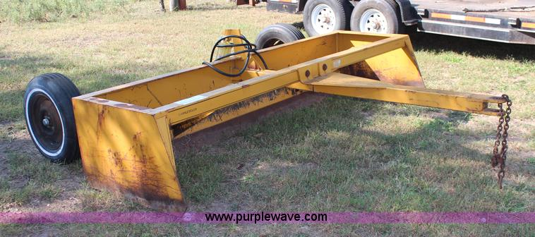 Land leveler 10' box blade | Item I5785 | SOLD! October 29 V
