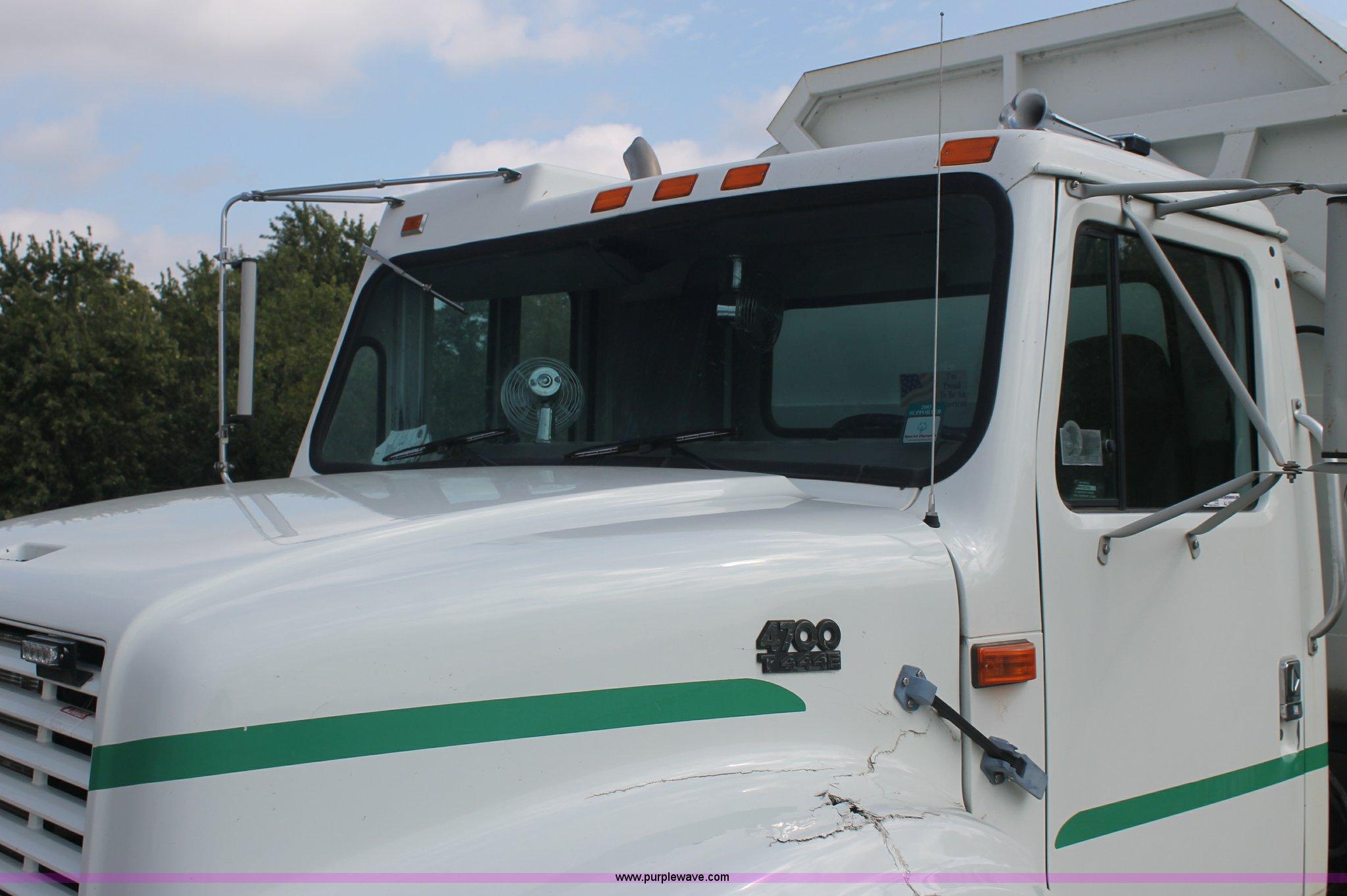 1999 International 4700 recycle truck | Item AJ9302 | SOLD!