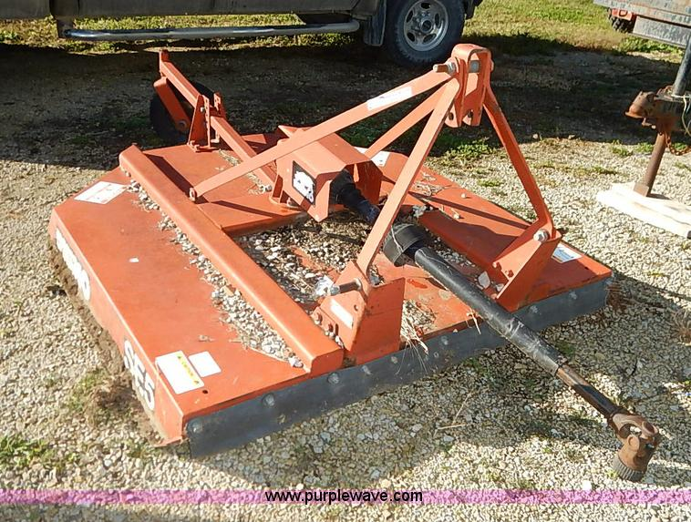 Rhino SE5 rotary mower | Item AY9140 | SOLD! Tuesday Novembe