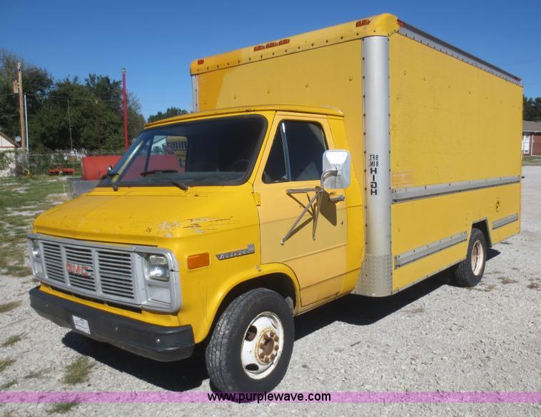 1988 Gmc Vandura G3500 Box Truck Item D2183 Sold