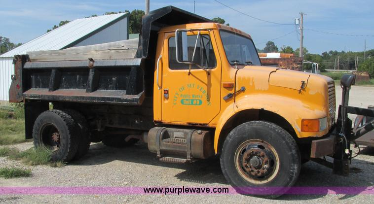 International 4600 truck manual