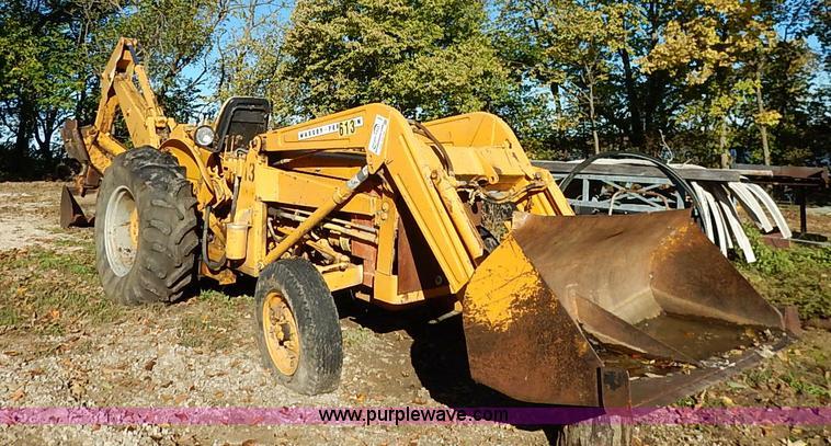 1968 Massey Ferguson 2135 backhoe | Item I5381 | SOLD! Tuesd