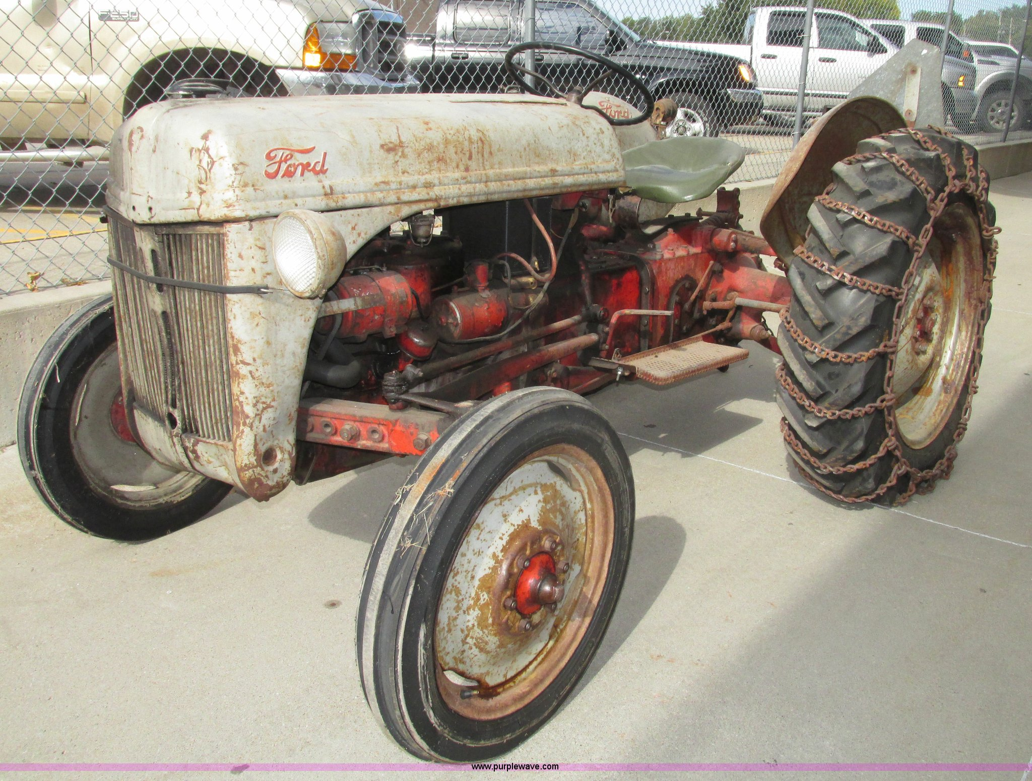 1950 Ford 8n Tractor Item G9924 Sold Tuesday November 4 No Oil Pressure Full Size In New Window
