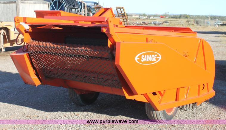 Savage SH60 pecan harvester   Item AO9650   SOLD! November 5