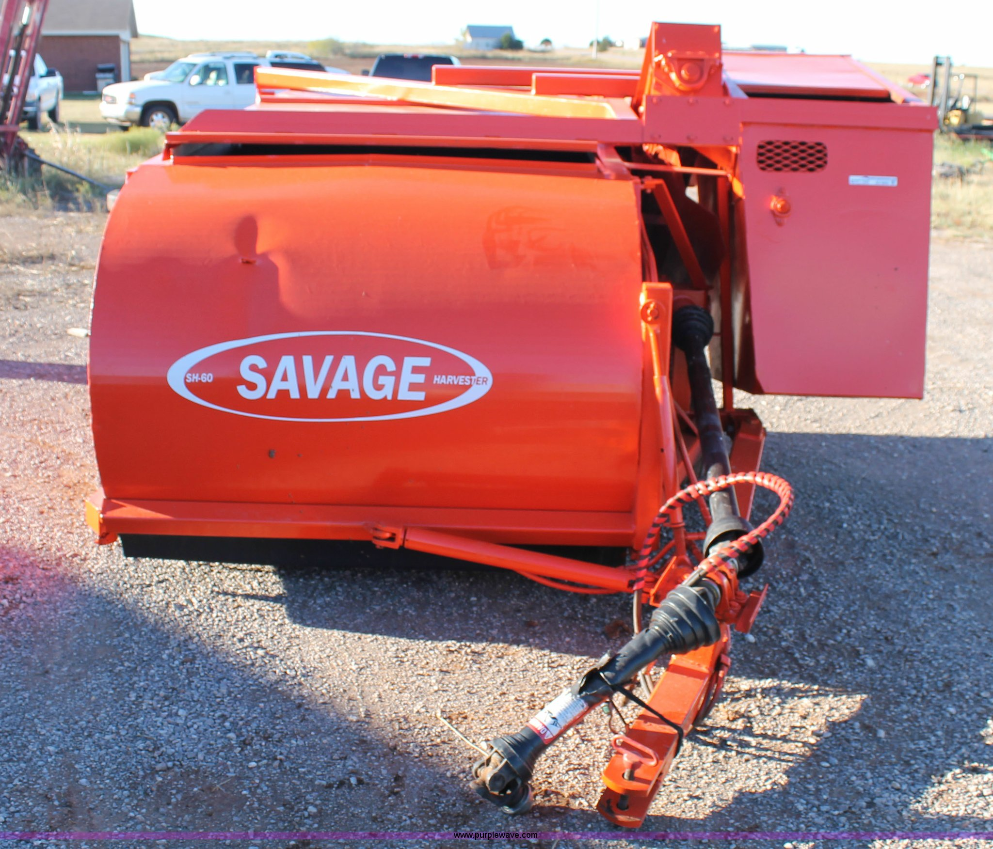 Savage SH60 pecan harvester | Item AO9650 | SOLD! November 5