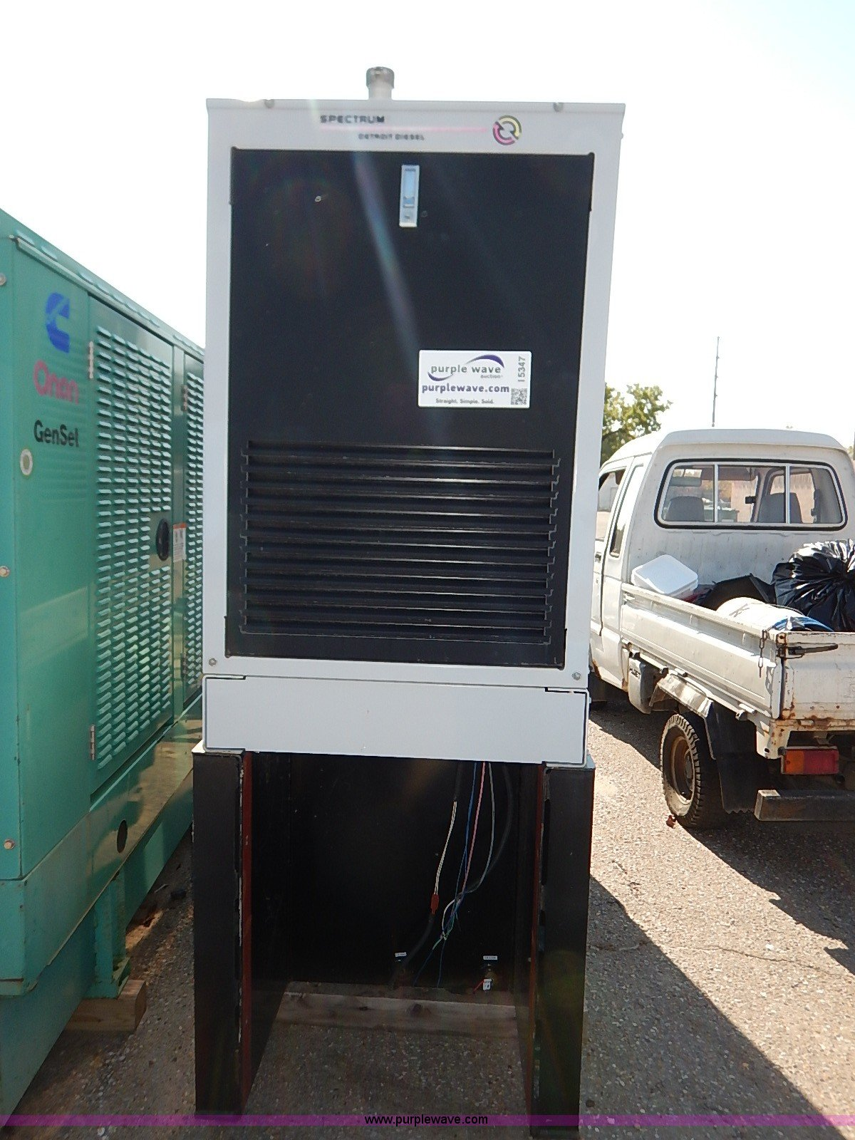 Spectrum Detroit Diesel generator Item I5347