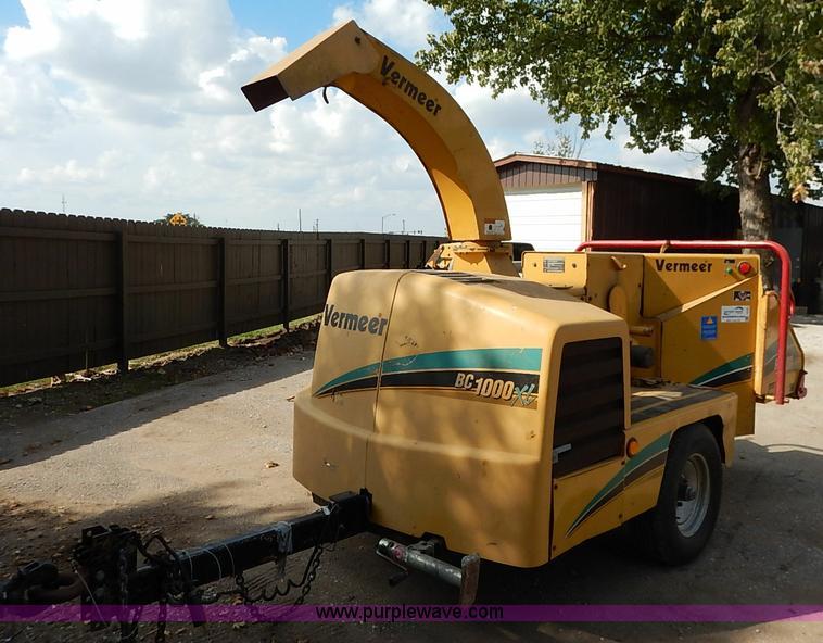 Vermeer BC1000XL wood chipper | Item I5343 | SOLD! November