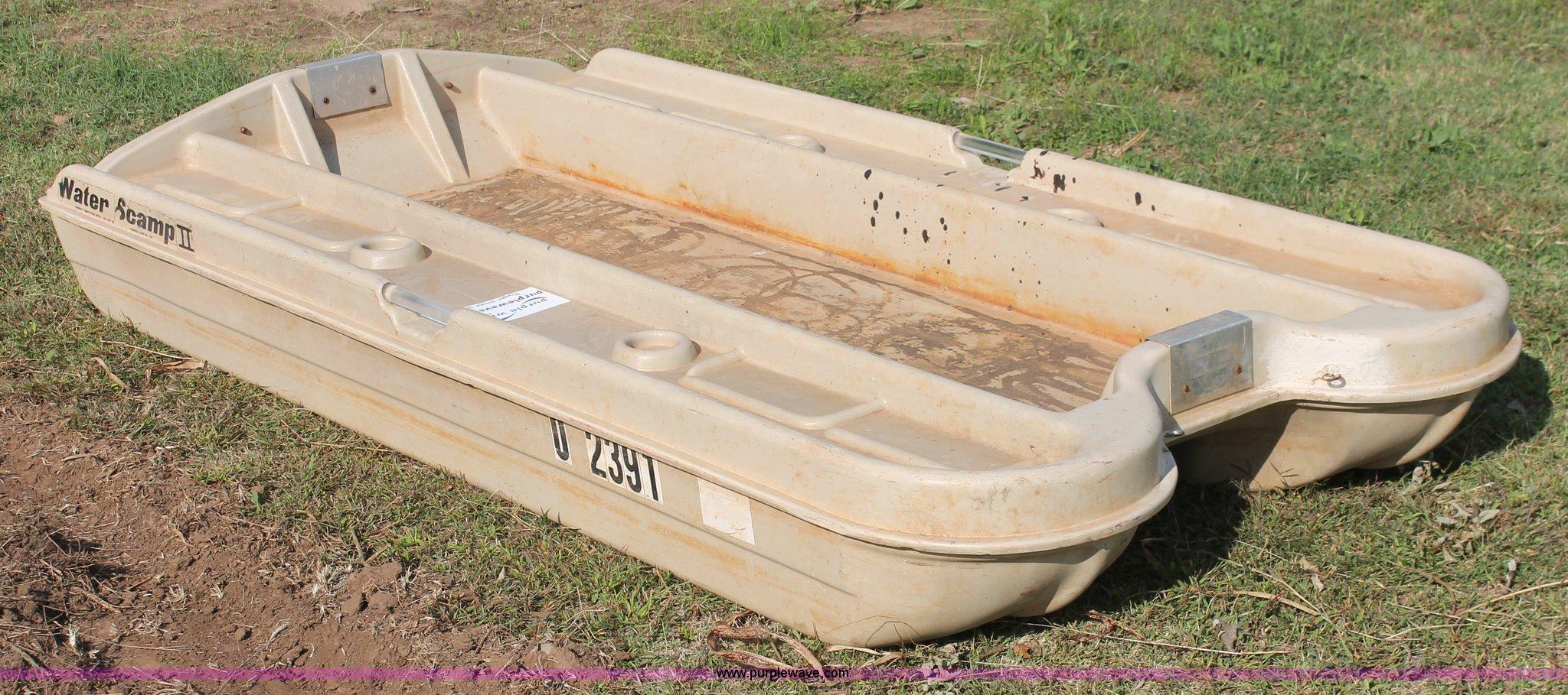 Water Scamp 2 Man Boat Off 79 Medpharmres Com