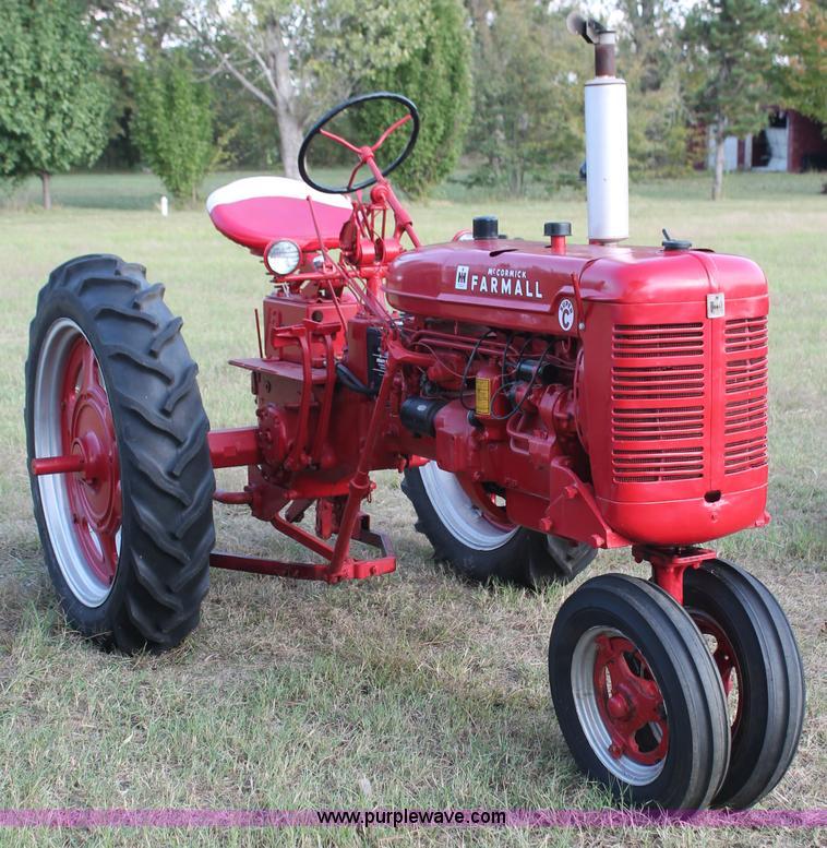 brand new 52b3b 8de49 1953 McCormick Farmall Super C row crop tractor   Item H5581...