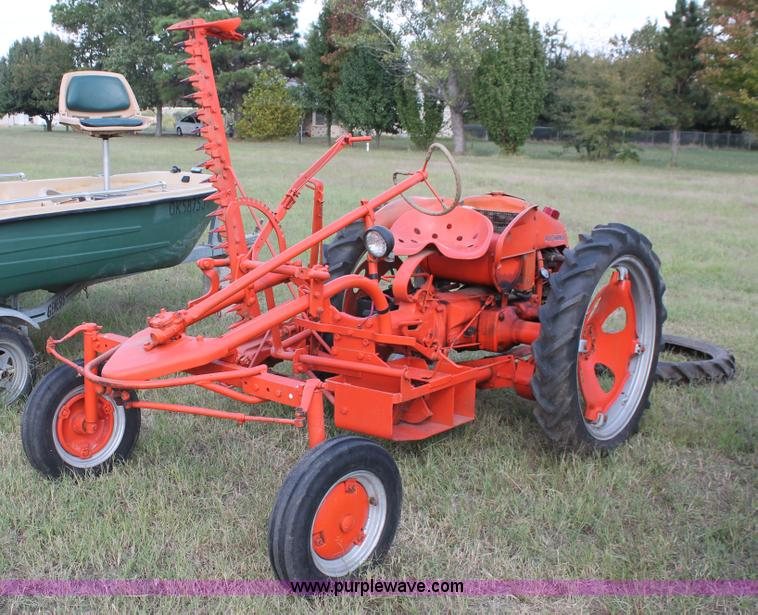 Four Engine Tractor : Allis chalmers g tractor item h sold