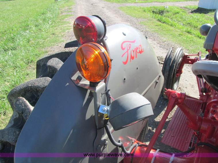 1948 ford 8n tractor item j2402 sold november 19 ag equ rh purplewave com 8N Ford Tractor Diagrams ford 8n rear light wiring