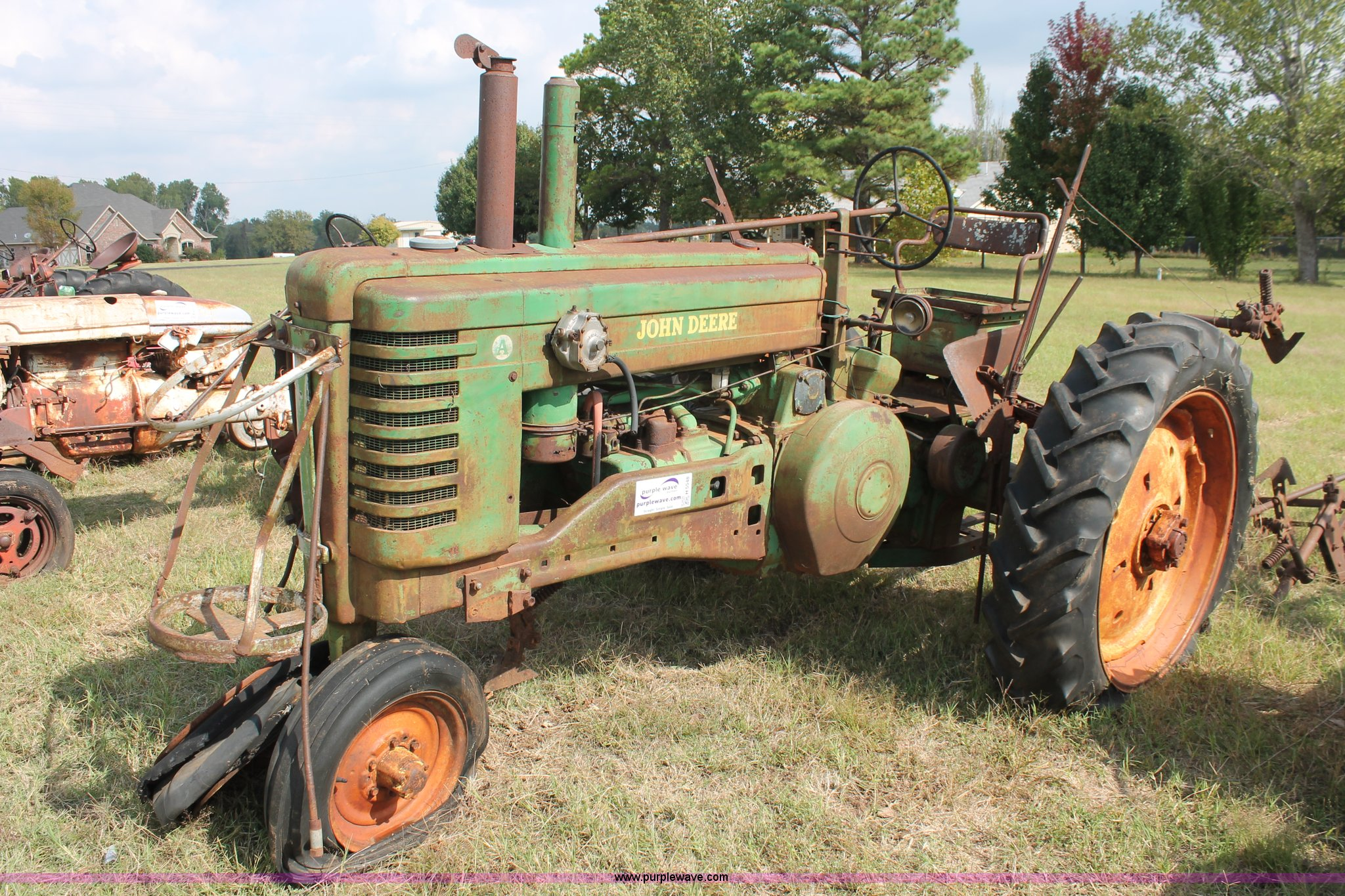 H5548 image for item H5548 1950 John Deere ...