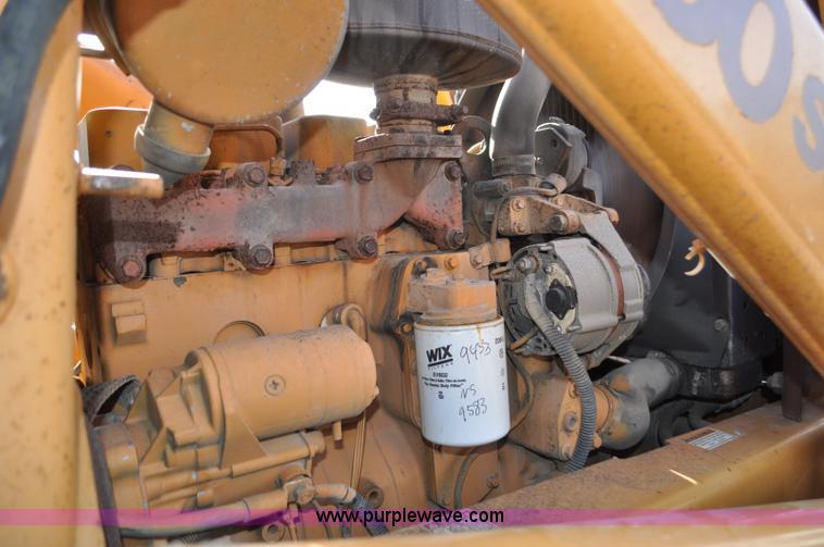 1993 Case 580 Super K backhoe | Item F2098 | SOLD! November