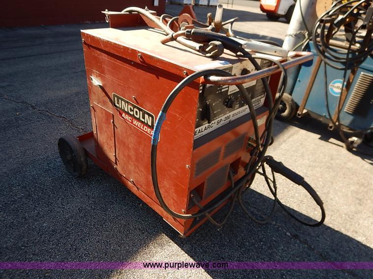 welder auction lincoln for generator sale weldanpower sol item image