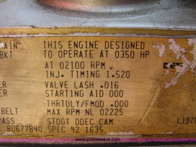 1988 Pierce pumper fire truck | Item H9469 | SOLD! December