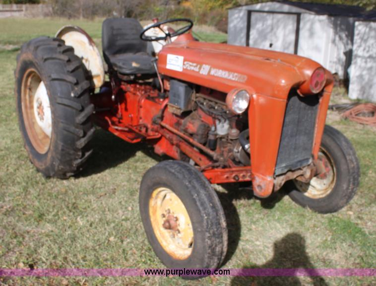 Ford 601 Tractor : Ford workmaster tractor item h sold december