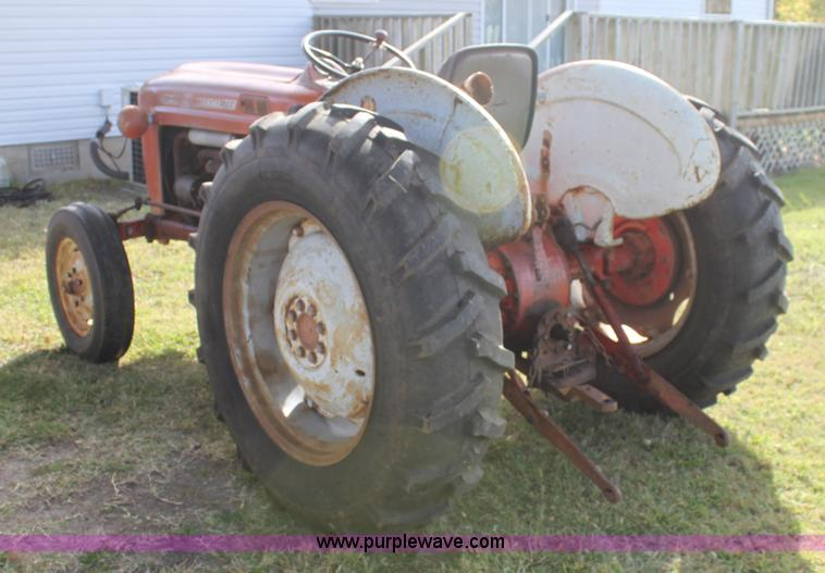 Ford Workmaster 601 Tractor Horsepower : Ford workmaster tractor item h sold december