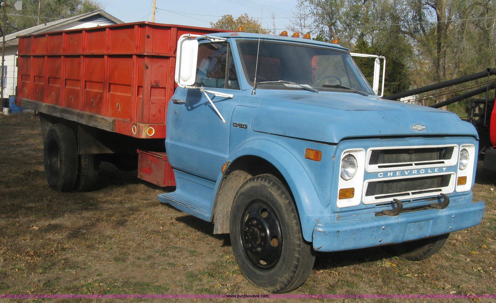 1971 chevrolet c50 stake bed dump truck item h9371 sold 1992 Chevy Truck h9371 image for item h9371 1971 chevrolet c50 stake bed dump truck