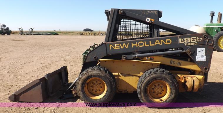 1995 New Holland LX865 skid steer | Item H9011 | SOLD! Decem
