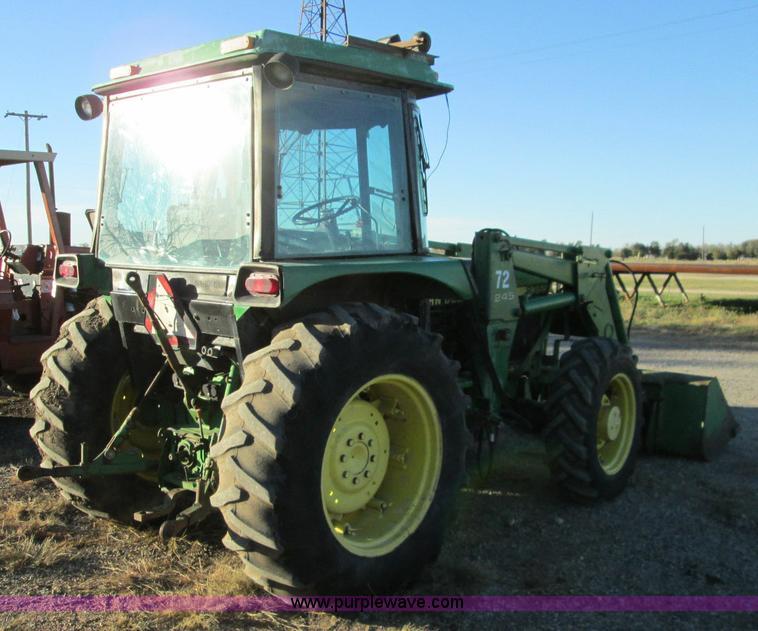 1988 John Deere 2355 MFWD Tractor Item I8675 SOLD Decem
