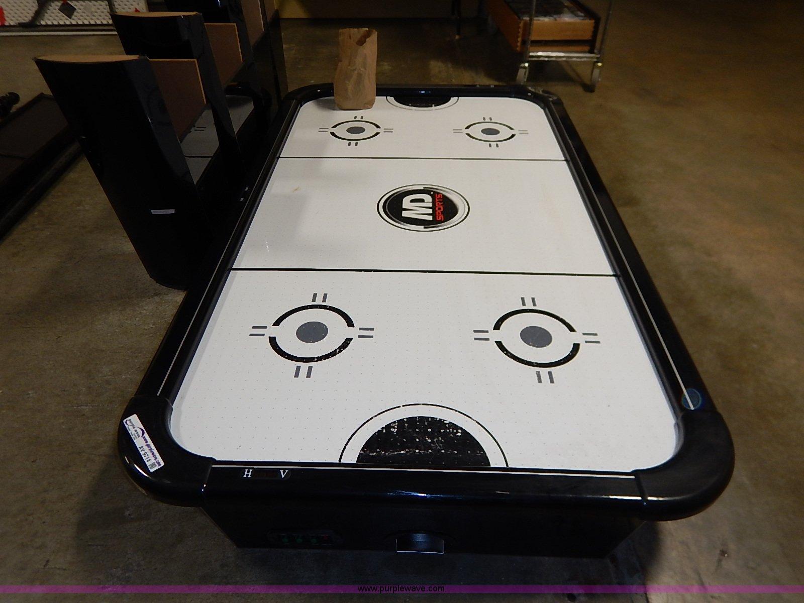 Md Sports Air Hockey Table Item Av9714 Sold December 9