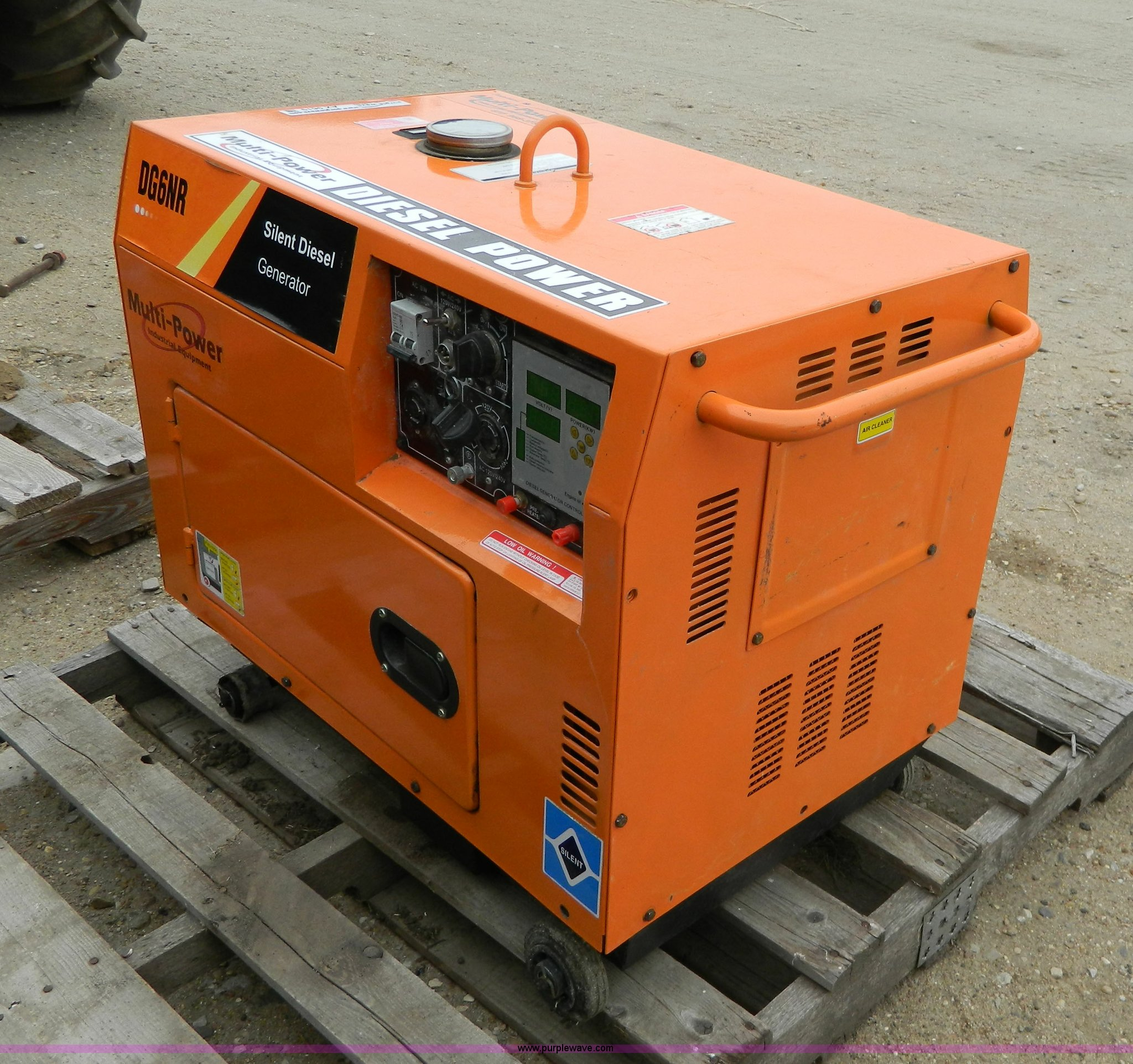 Multi Power DG6NR generator Item AX9619