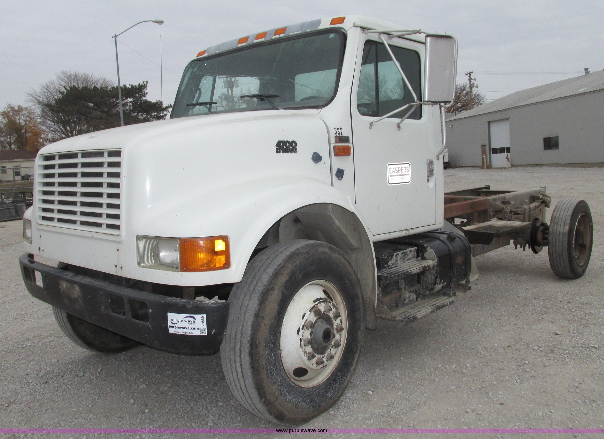 ... International 4700 truck cab and chassis Full size in new window ...
