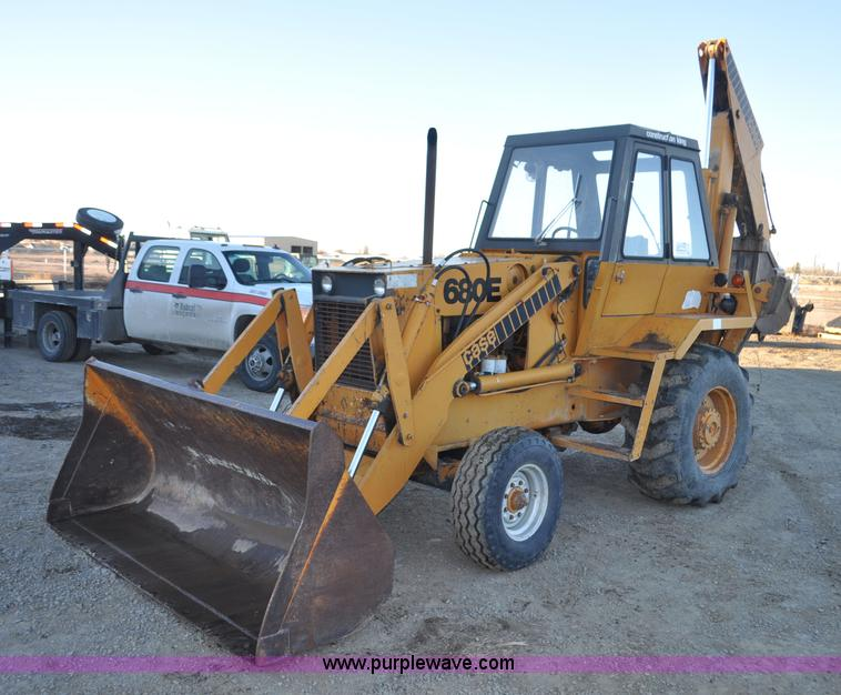 1976 Case 680E Construction King backhoe   Item F2128   SOLD