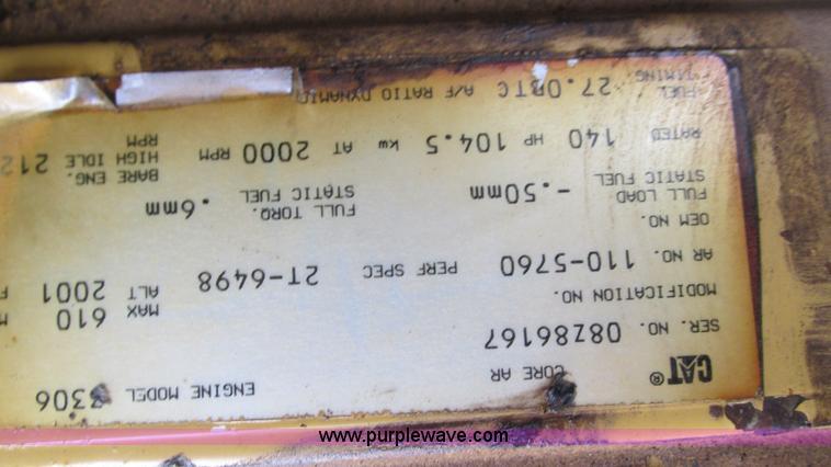1995 Caterpillar 12H motor grader | Item I3167 | SOLD! Decem