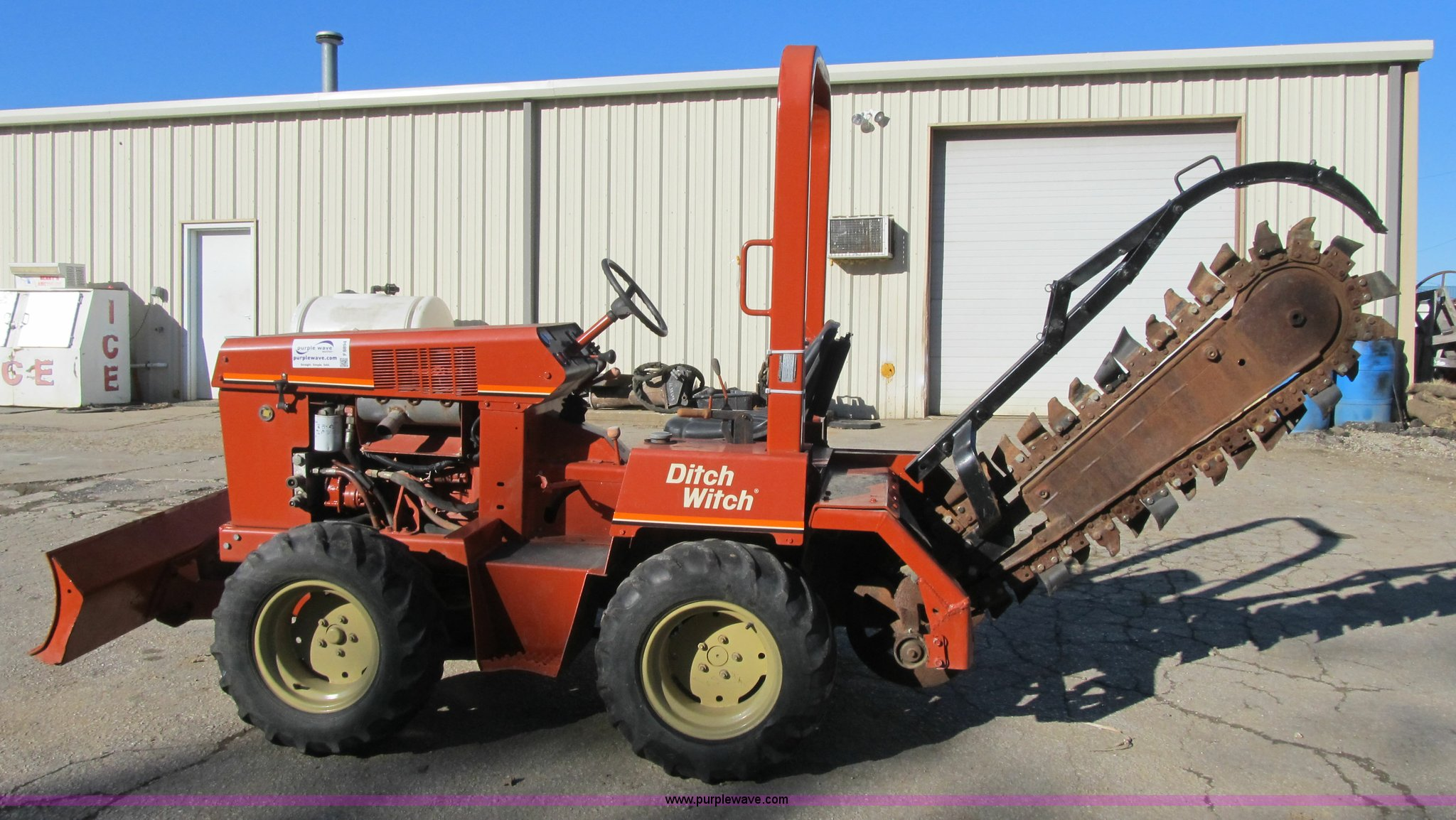 ... Ditch Witch 3610 trencher Full size in new window ...