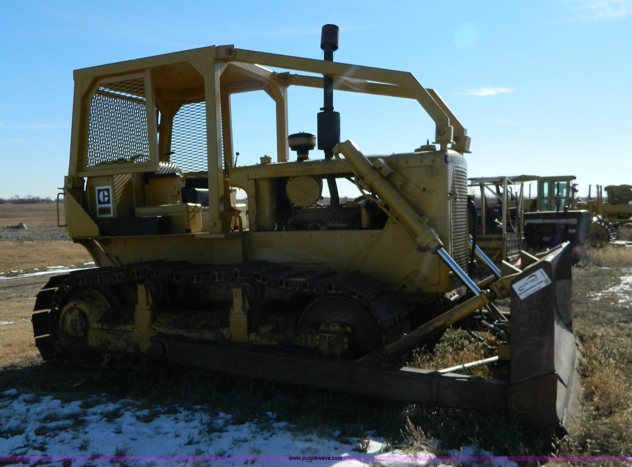H2335A 1969 caterpillar d6c dozer item h2335 sold! december 18 Caterpillar D6C 10K at reclaimingppi.co