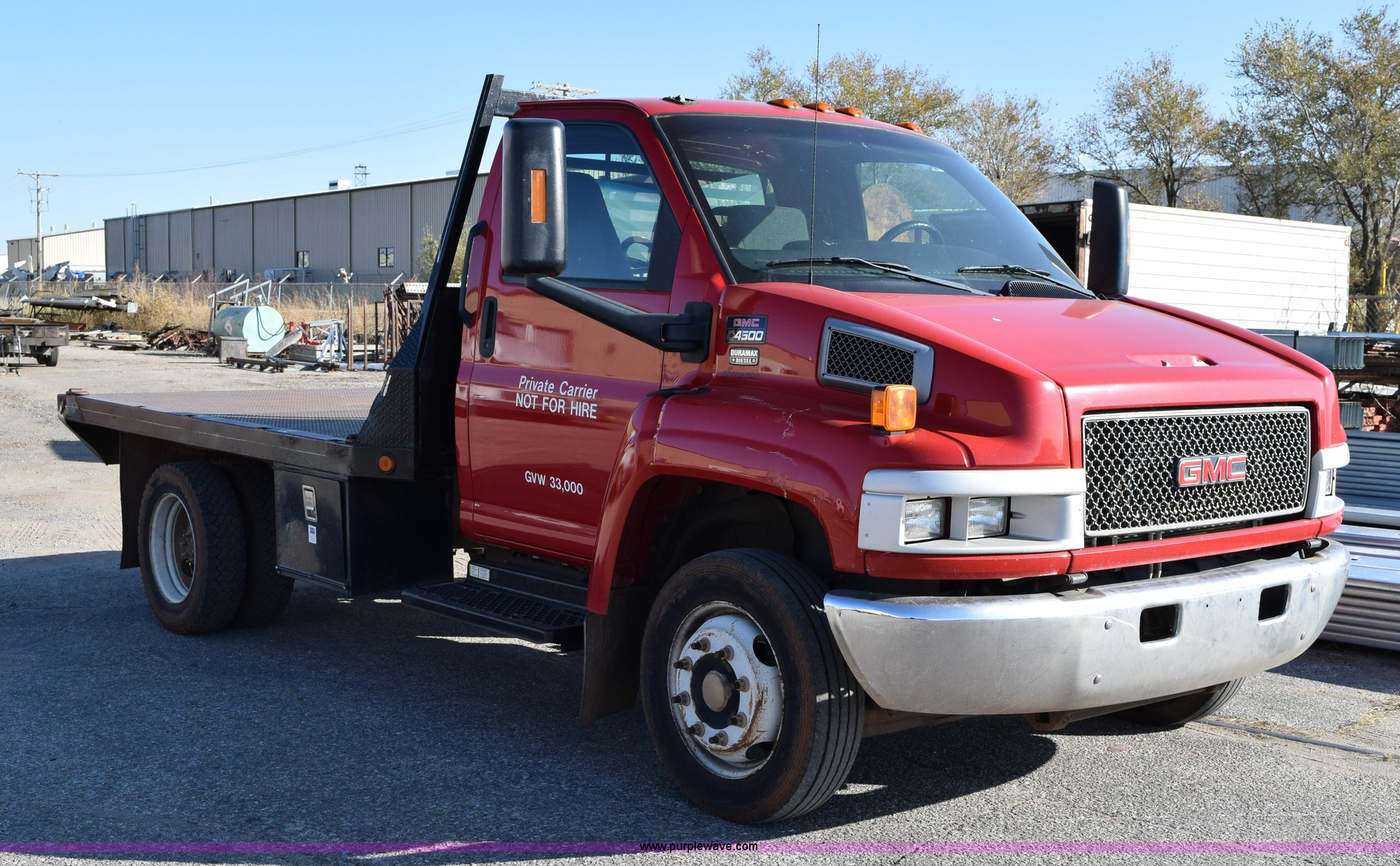 new item sold truck gmc sale in auction november size window for full flatbed
