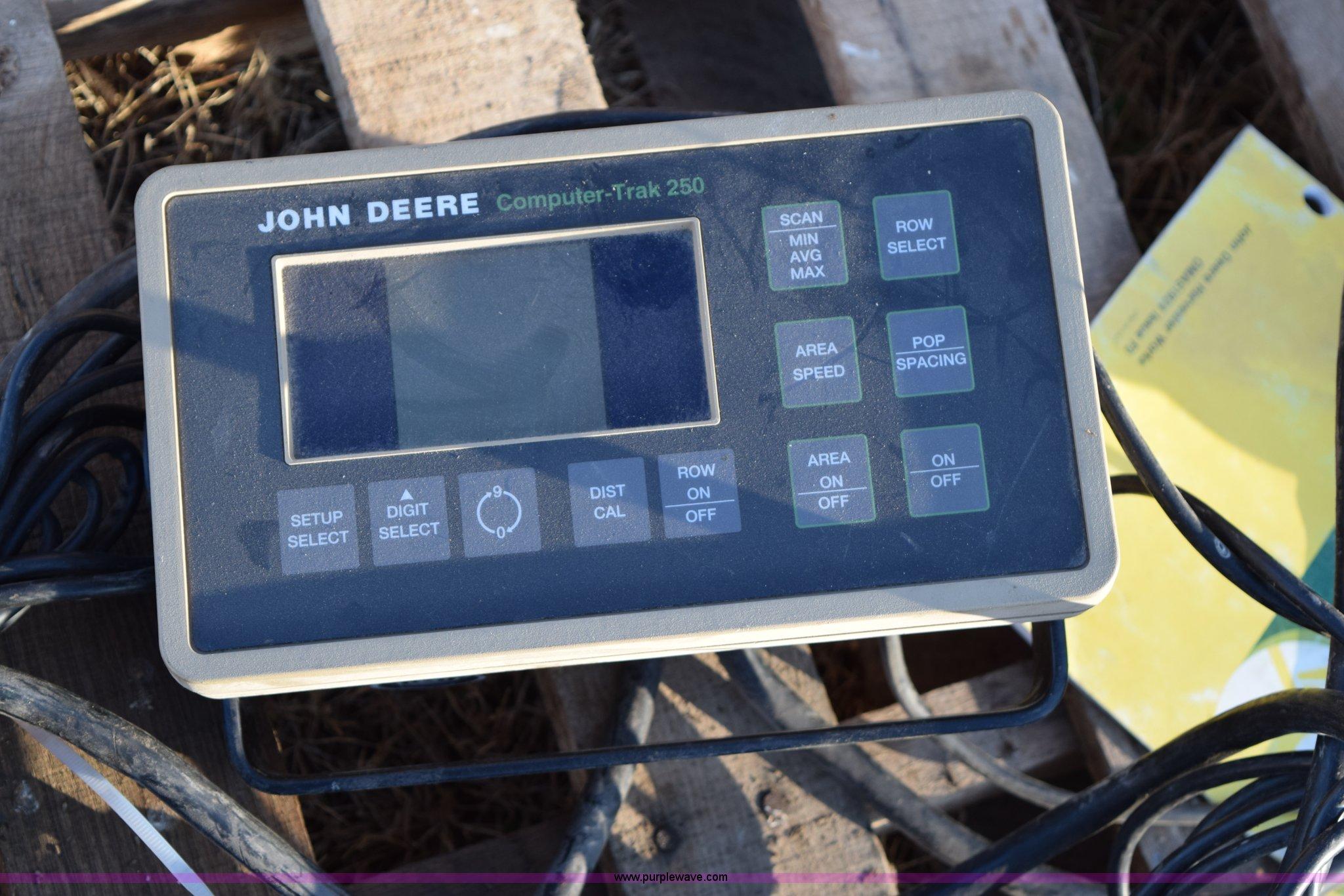 John Deere Computer Trak 250 Wiring Diagram - Complete Wiring Diagrams •