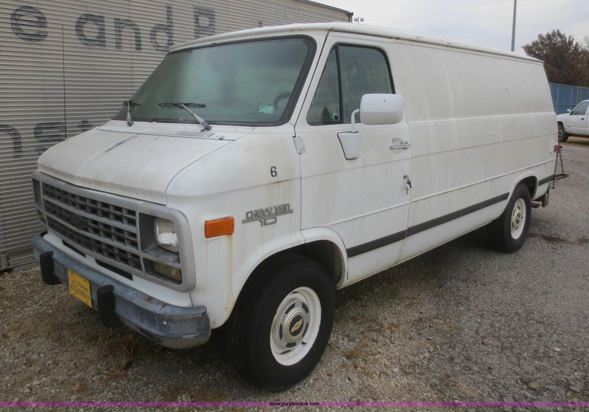 1993 Chevrolet G10 Van